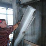 beton vágás Rudabánya