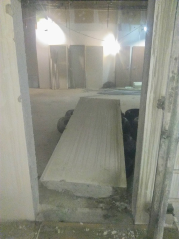 betonfal átvágás