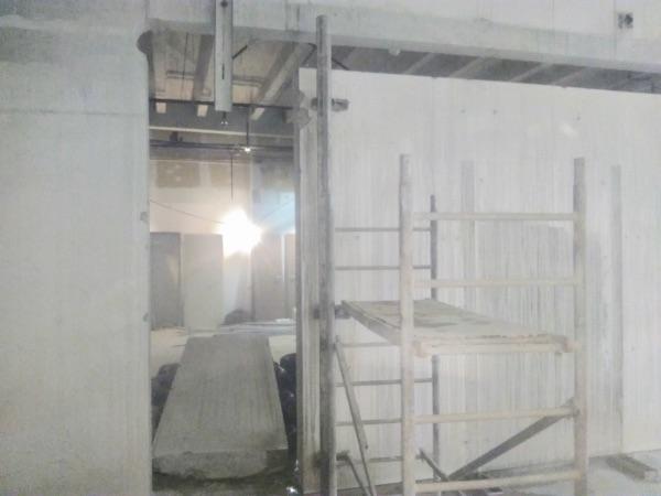 nyílás vágás betonba